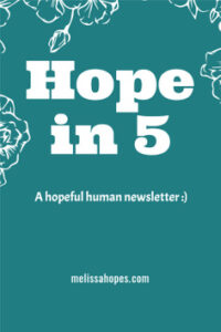 how to be a better person hope