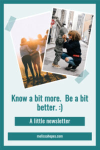 how to be a better person newsletter